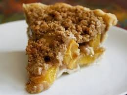 Peach Crumb Pie recipe found on the website of Fix Bros. Fruit Farm, Hudson, New York